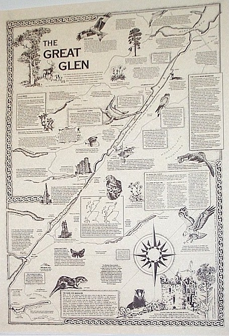 map of The Great Glen
