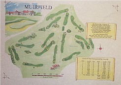 Muirfield Golf Course print
