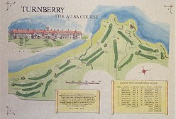 Turnberry the ailsa course print